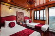 Halong Rosa Cruise Deluxe Twin Cabin