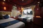 Halong Rosa Boutique Deluxe Twin Cabin