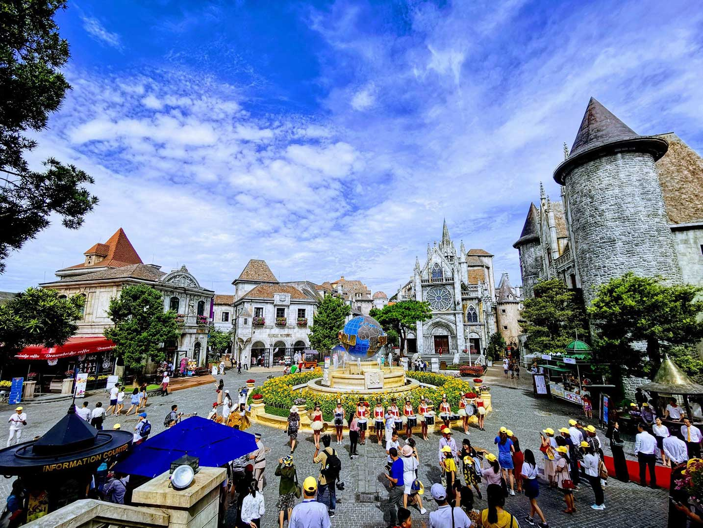 Ba Na Hills the French Village