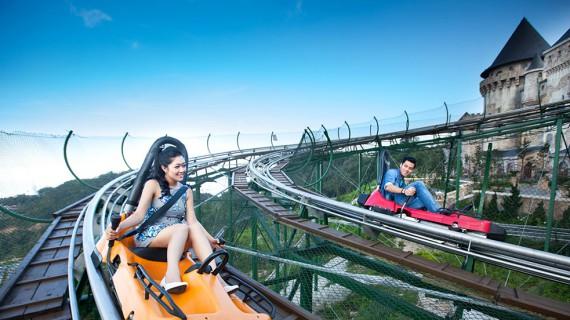 Ba Na Hills the alpine coaster