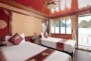 Lan Ha Legend Deluxe Twin Ocean View Cabin