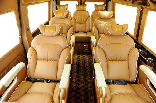 Sapa limousine bus