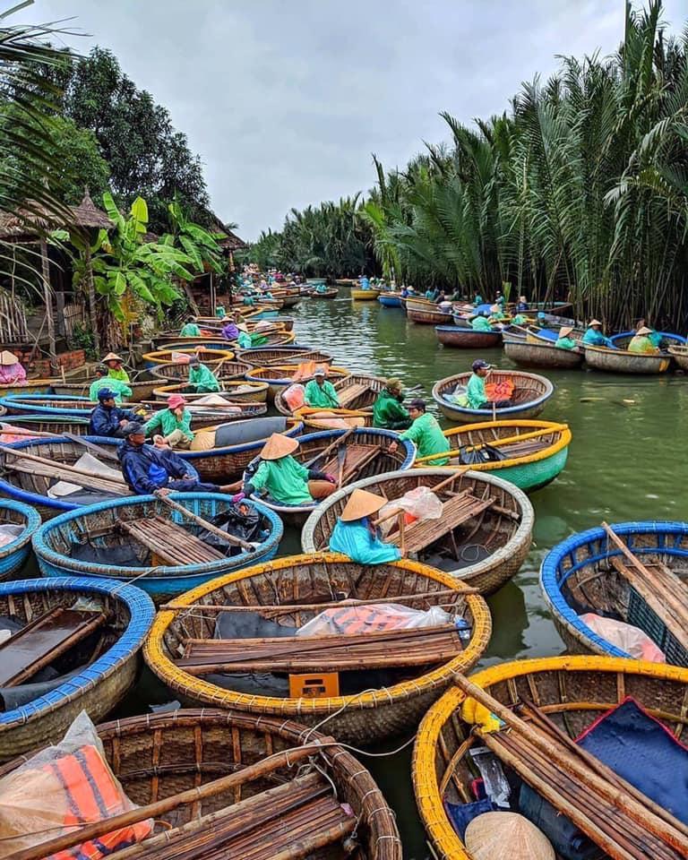 hoi an Basket boats